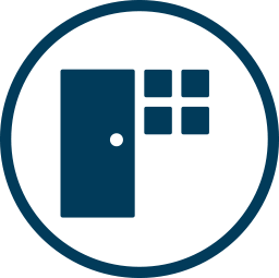 Doors+Windows Icon