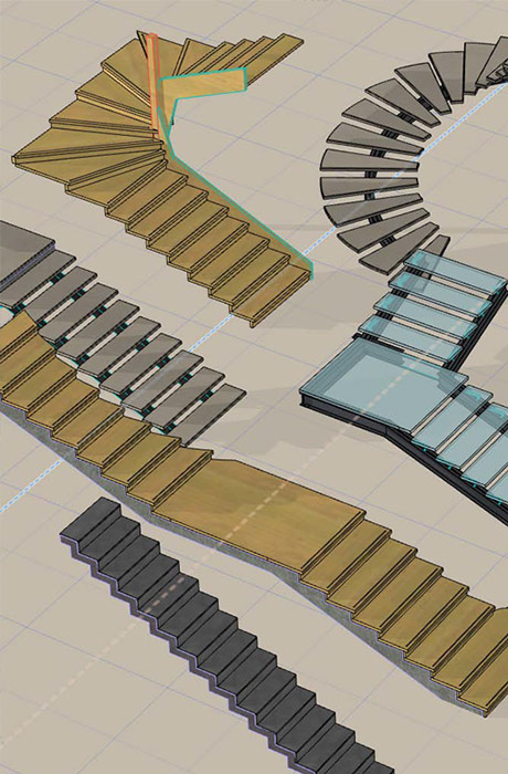 Stairs for Stair and railing solution